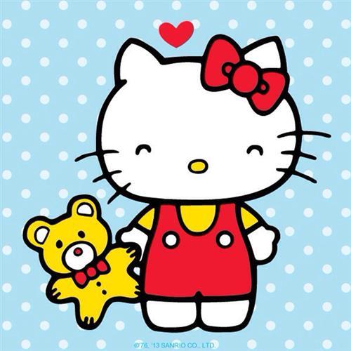 可爱哈喽kitty图片素材