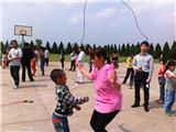 亲子双人跳绳比赛1