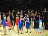 江紫萱在省国标舞比赛中获第二名