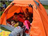 帐篷里真好玩