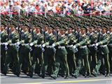 武警部队抗战英模部队方队
