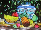 水果与花瓶