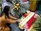 烈士陵园祭扫活动