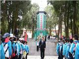 烈士陵园祭扫活动 (2)