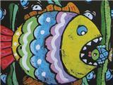 水粉画欣赏3
