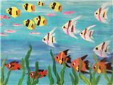 水粉画欣赏2