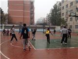 我校教师与新疆学习教师进行友谊篮球赛 (4)