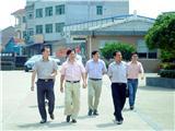 副区长袁亚平到校视察.