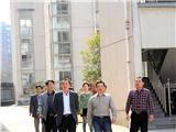 市教育局副书记方焕云来校检查学校安全工作。