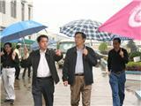 原市委书记孙建国在衢江区第一小学调研。