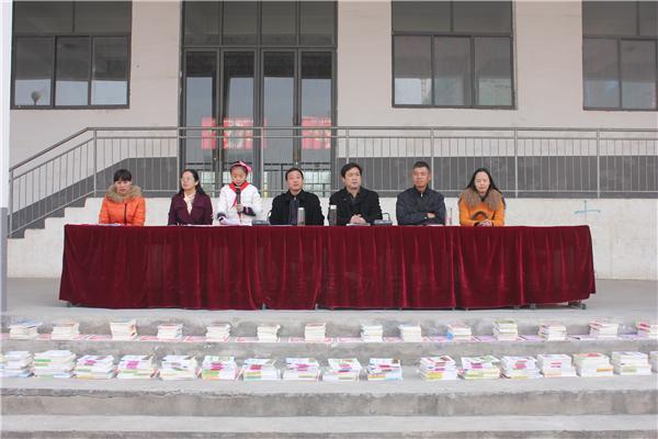 亳州九中举行期中表彰大会 高清图片