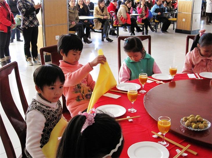 家长进课堂之儿童餐桌礼仪49